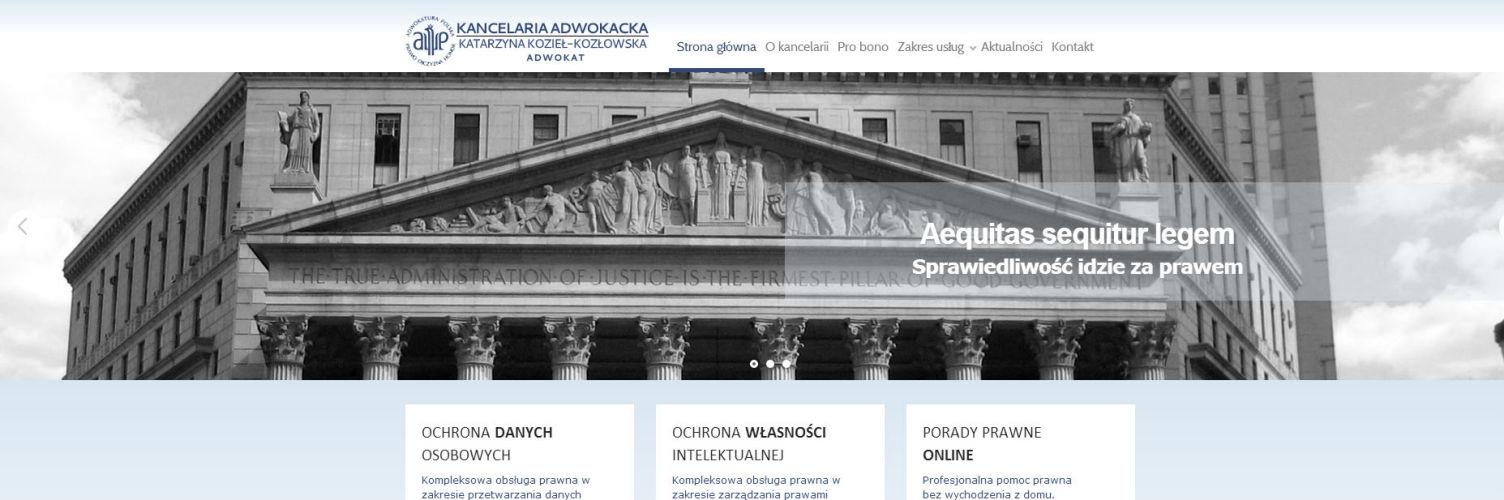 Nasza nowa strona internetowa